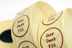 adhesive labels in rolls